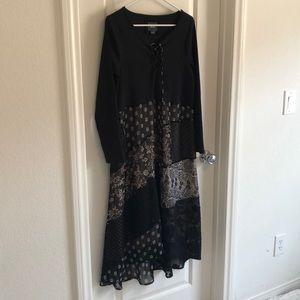 NWOT Women's Anthropologie Maeve Brand MIdi Dress